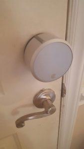August Smart Lock On My Door