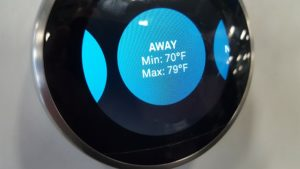 Nest learning thermostat Away Mode