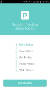 Petnet Smart automatic pet feeder How to set up