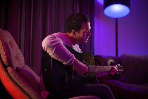 Philips Hue smart light mood Corny Guitar