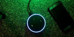 Alexa Hue Green Light