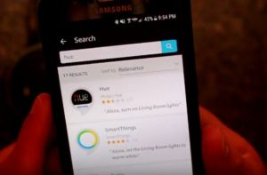 Search Hue in Alexa App